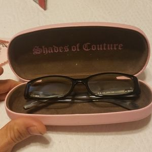 Juicy Couture glasses.